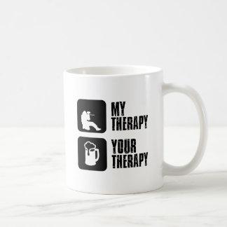 paintball therapy designs coffee mug