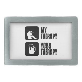 paintball therapy designs rectangular belt buckle
