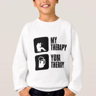 paintball therapy designs sweatshirt