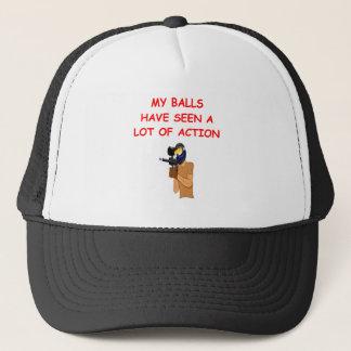paintball trucker hat