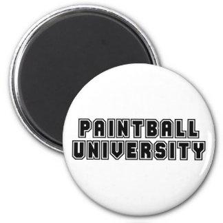 Paintball University Magnet