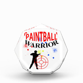 Paintball Warrior Themed Graphic Award