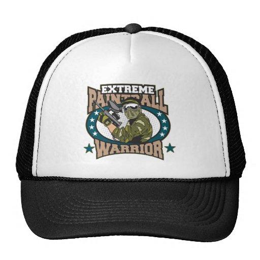 Paintball Warrior Trucker Hat