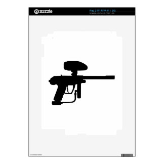 Paintball weapon iPad 2 skins
