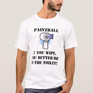 Paintball Wipe T-Shirt