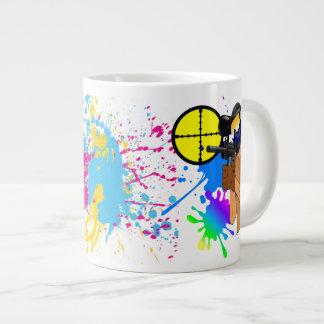 Paintball Wizard Large Coffee Mug