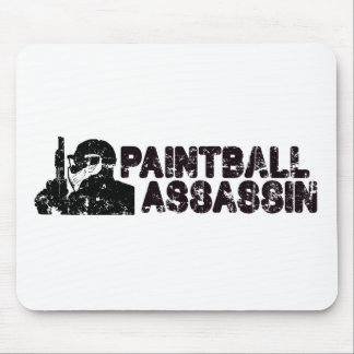 Paintballing Assassin Mouse Pad