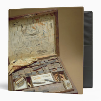 Paintbox of John James Audubon 3 Ring Binder