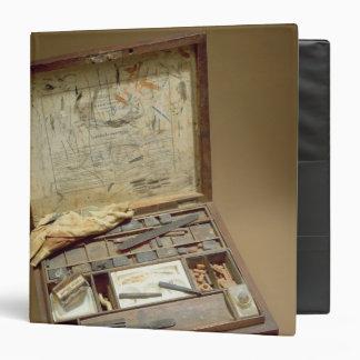 Paintbox of John James Audubon 3 Ring Binder