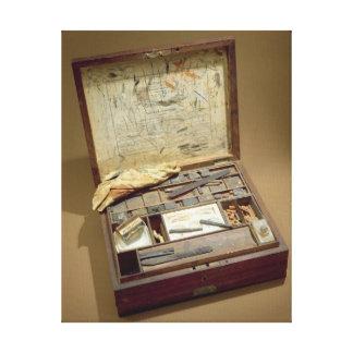 Paintbox of John James Audubon Canvas Print