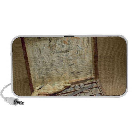 Paintbox of John James Audubon Laptop Speakers