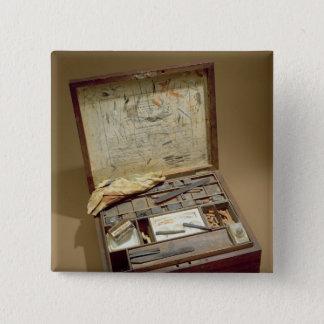 Paintbox of John James Audubon Pinback Button