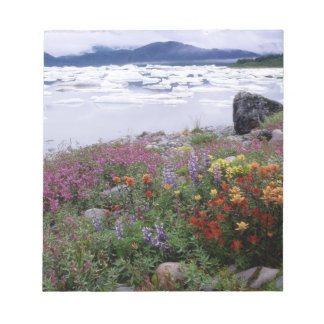 Paintbrush, Lupine, Fireweed. Icebergs Russell Notepad