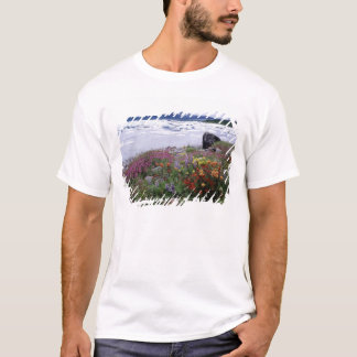 Paintbrush, Lupine, Fireweed. Icebergs Russell T-Shirt