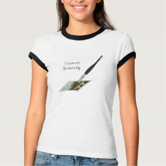 Paintbrush painting landscape artists design T-Shirt