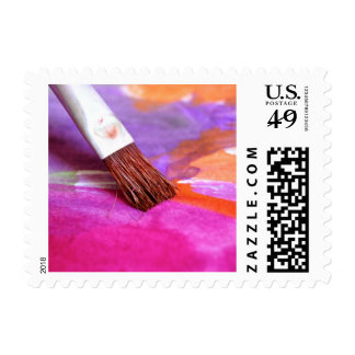 Paintbrush Stamp