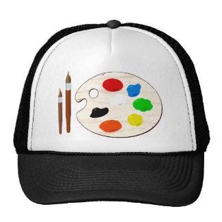 Paintbrush Trucker Hat