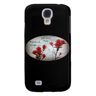 paintbrush wildflowers, Johnston's Ridge 3 Samsung Galaxy S4 Covers