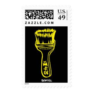 Paintbrush - Yellow Postage