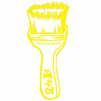 Paintbrush - Yellow Statuette
