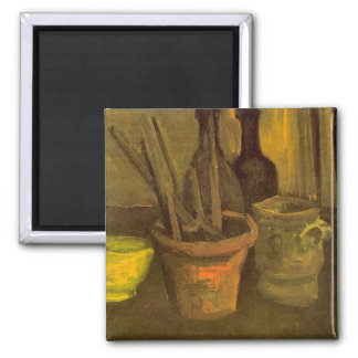 Paintbrushes by Vincent van Gogh Magnets