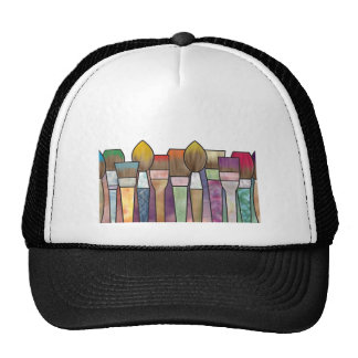 Paintbrushes Trucker Hat