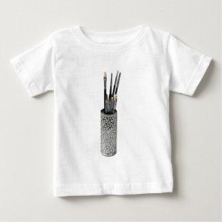 PaintbrushesDryingIntricateHolder123111 Baby T-Shirt