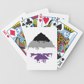 Paintdrip Asexual Ace Bicycle Card Deck