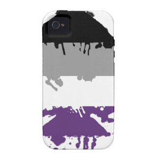 Paintdrip Asexual Ace Case-Mate iPhone 4 Case