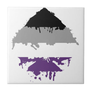 Paintdrip Asexual Ace Ceramic Tiles