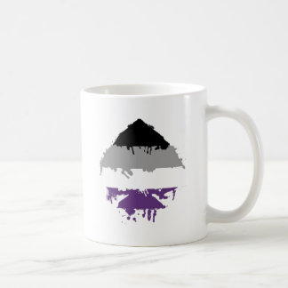 Paintdrip Asexual Ace Classic White Coffee Mug