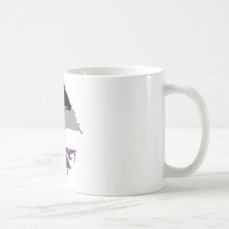 Paintdrip Asexual Ace Coffee Mug