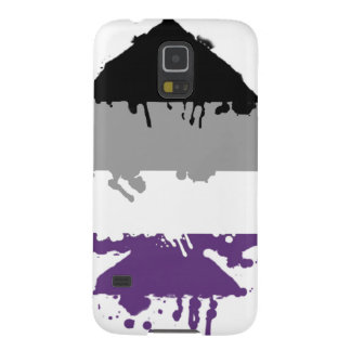 Paintdrip Asexual Ace Galaxy S5 Covers