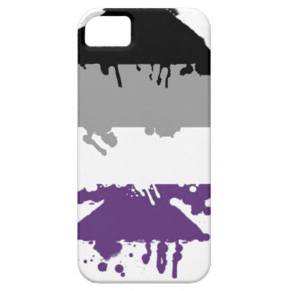 Paintdrip Asexual Ace iPhone 5 Cover