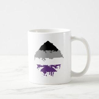 Paintdrip Asexual Ace Mug