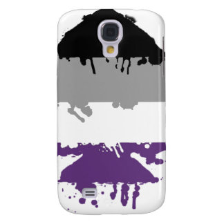 Paintdrip Asexual Ace Samsung Galaxy S4 Case