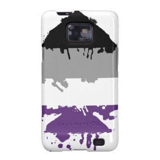 Paintdrip Asexual Ace Samsung Galaxy SII Cover
