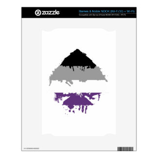 Paintdrip Asexual Ace Skins For NOOK