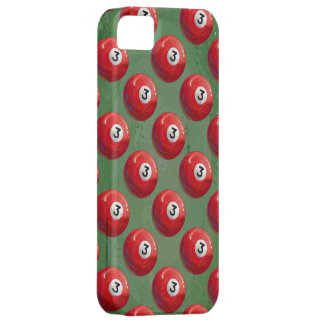 Painted 3 Pool Ball Pattern iPhone SE/5/5s Case