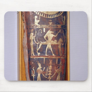Painted and gilded mummy case of Artemidorus Mouse Pad