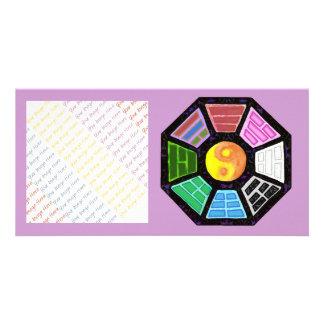 Painted Ba-Gua Card