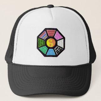 Painted Ba-Gua Trucker Hat