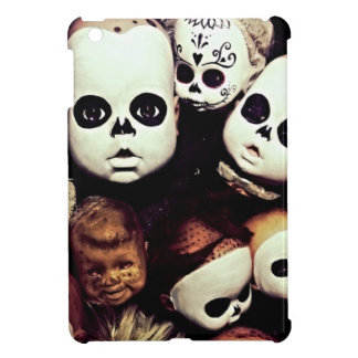 Painted baby doll heads iPad mini cases