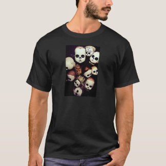 Painted baby doll heads T-Shirt