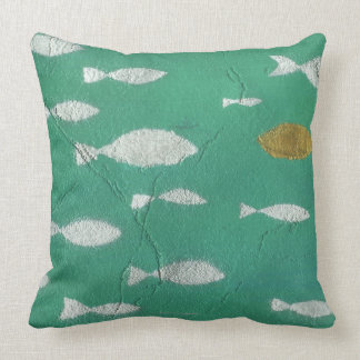 Painted Background Pillows