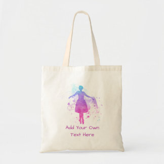 Painted Ballet Dancer to Personalize - Colorful Tote Bag