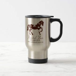 Painted Bar Stables Stainless Steel Mug