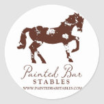 Painted Bar Stables Stickers