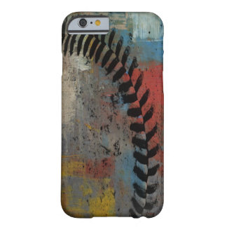 painted baseball case for iphone barely there iPhone 6 case