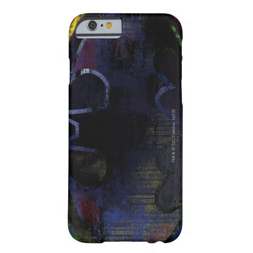 Painted Bat Symbol Barely There iPhone 6 Case